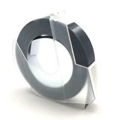 1pc Label Maker Manual Embossing 9mmx3m Refill Tape Organizer For Dymo Motex