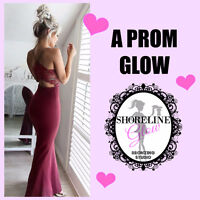Prom Makeup & Spray Tan Special $90 reg. $120