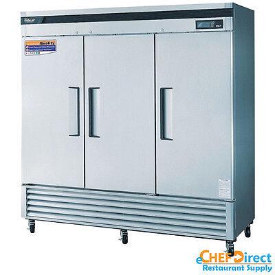 Turbo Air Tsr-72sd-n Super Deluxe 82 3 Door Reach-in Refrigerator