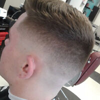 Exprians and licensed barber or stylist