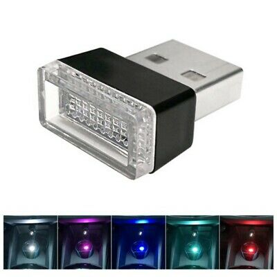 Flexible Mini USB LED Light Colorful Lamp For Car Atmosphere