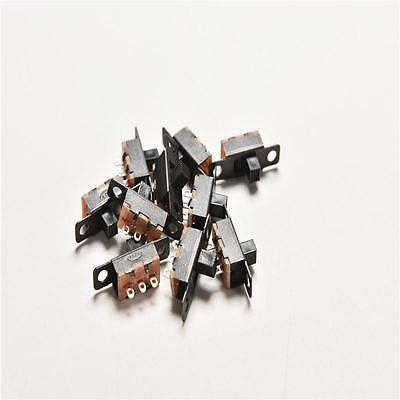 20pcs 5v 0.3a Black Mini Size Spdt Slide Switch On-off 3-pin Pcb For Diy Yn-sl