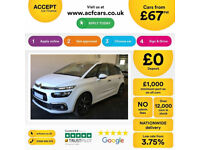 Citroen C4 Picasso FROM £67 PER WEEK!