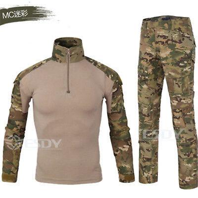 Tactical Military Combat Uniform Shirt  Pants G3 Airsoft gen3 CAMO MultiCam BDU* Multicam Combat Uniform