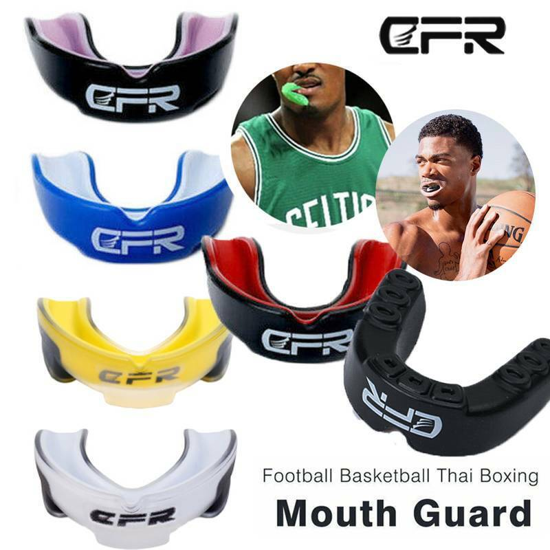 Adults Mouth Guard Teeth Protector  Boxing Basketball Gel Gu