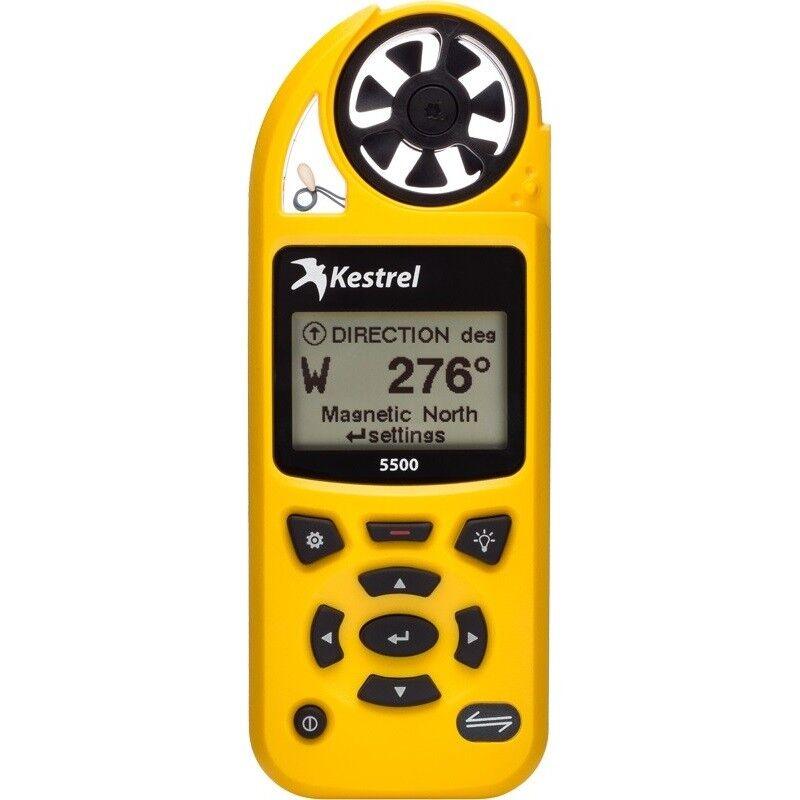 Kestrel 5500 Weather / Enviromental Meter - Yellow - 0855YEL - Dealer