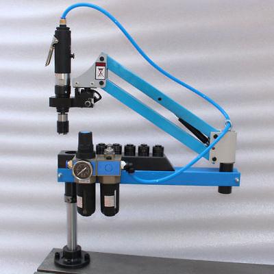 R1500mm Air Pneumatic Tapping Machine M3-m16 Flexible Arm Thread Air Tapper