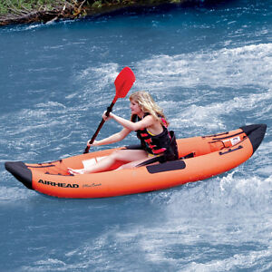 AIRHEAD AHTK-1 Montana Performance 1 Person Kayak (Inflatable)