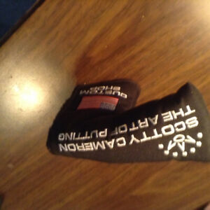 Scotty cameron putter cover brand new