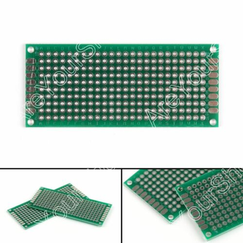 Double Side 3x7cm Prototype PCB Board Universal Printed Circuit Board 1.6mm USA