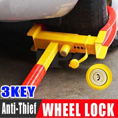 2019 Anti Theft Wheel Lock Clamp Boot Tire Claw Trailer Auto Car Truck