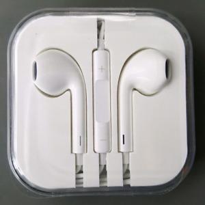 Écouteurs neufs pour iPhone 4 4s 5 5c 5s 6 6s 6s plus