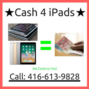 I Buy iPad's ( ALL MODELS) & iMac & MacBook - We Come To You!