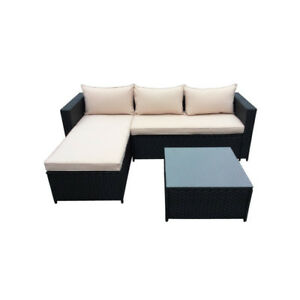 3 pieces rattan sofa set - Brand new models