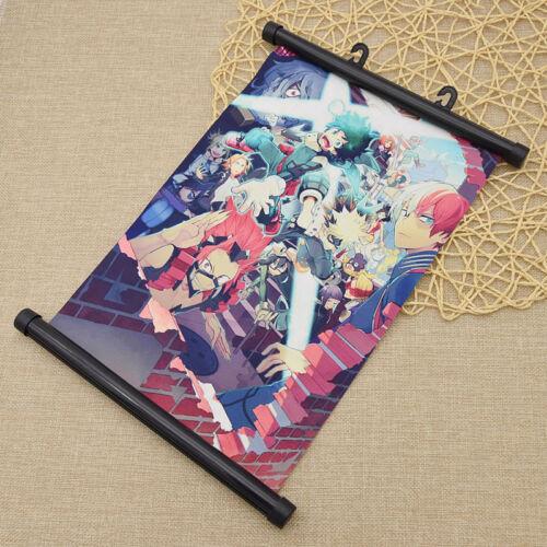 Boku No Hero Academia Wall Scroll Poster Anime Cosplay Gift