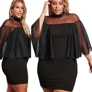 Mini Medium large sexy club date night black dress