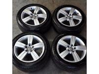 """17"""" Audi TT 5 Spoke Alloy Wheels"""