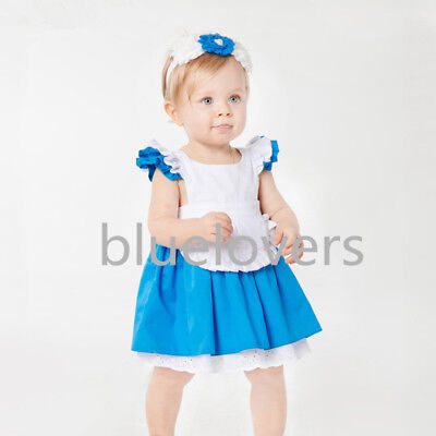 Alice In Wonderland baby Girl Fancy Dress Lolita Costume Halloween Kids'Outfit  - Alice In Wonderland Halloween Outfit