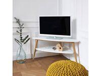 la redoute tv unit c/o torque white
