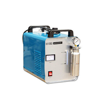 220v 95l Oxygen Hydrogen Flame Generator Acrylic Hho Polishing Machine Gastorch