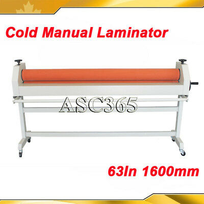 All Metal Construction 63in Manual Cold Laminating Machine Cold Laminator