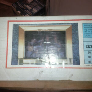 Fireplace Screens (new in box)
