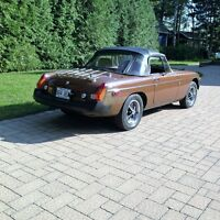 MGB 1980 over drive