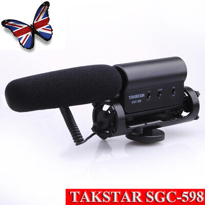 TAKSTAR SGC-598 Photography Interview Condenser Recording Microphone for DSLR DV
