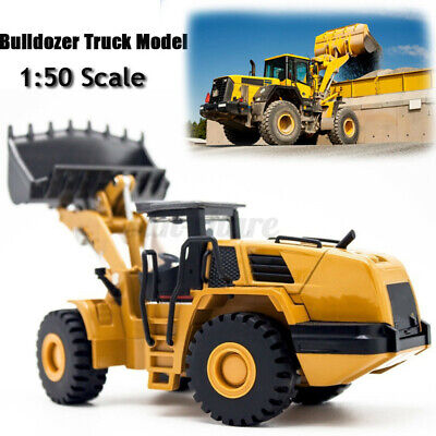1:50 Alloy Toy Dump Truck Diecast Construction Vehicle Car Excavator Model