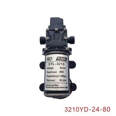 Dc24v 80w 6lmin Micro Diaphragm Pump Pressure Switch For Washing 3210yd-24-80