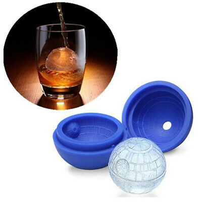 3D Star Wars Ice Cube Round Ball Mould Tray Desert Sphere Death Party DIY NEW