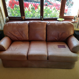 Leather sofa from Marks and Spencer