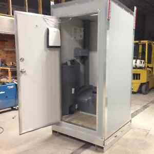 Heated Portable Skidded or Trailered Washrooms / Showers / Combo