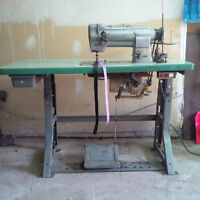 Singer Double Needle Industrial Sewing Machine