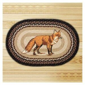 Fox 100 Natural Braided Jute Rug 20