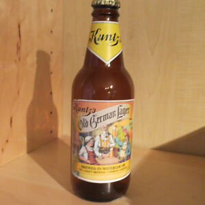 KUNTZ  OLD GERMAN LAGER BOTTLE