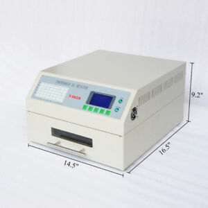 Infrared IC Heater Automatic Micro-Computer Reflow Oven