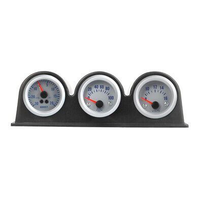Triple Three Auto Car Gauge Meter Pod Holder Cup Mount 2