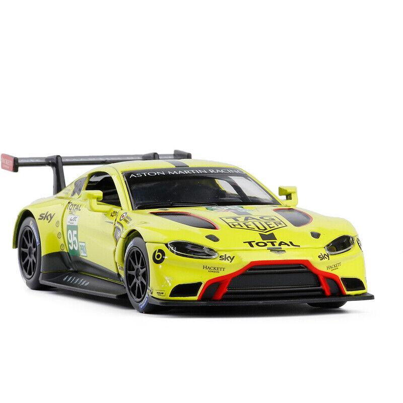 Aston Martin Race Car: Aston Martin Vantage GTE Racing Car 1:32 Model Car Diecast