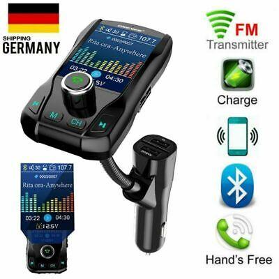 FM Transmitter AUX KFZ Auto Radio Anlage MP3 Musik Player Freisprechanlage Handy Fm Handy