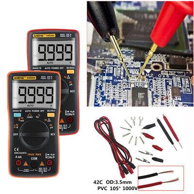 An8009 True-rms Auto Range Digital Meter Multimeter Acdc Voltage Ammeter
