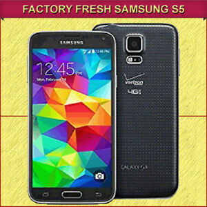 BRAND NEW SAMSUNG GALAXY S5 SMART PHONE - NEVER USED