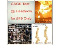 CSCS Test at Heathrow for £49 only