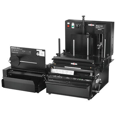 Rhin-o-tuff Onyx 3 In 1 Pps Automatic Paper Punching System