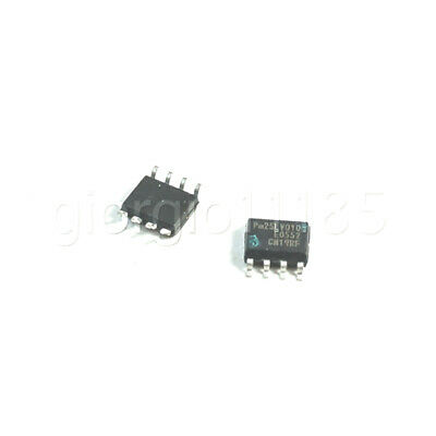 Us Stock 5pcs Pmc Pm25lv010 Sop8 Serial Falsh Chip For Lcd Driver Board