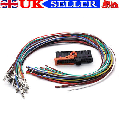 Left Right Door Cable Wiring Harness Loom+Plug For SKODA ROOMSTER SUPERB YETI F1