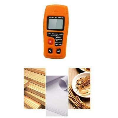 For Firewood Paper 0-99.9 Handheld Digital Wood Moisture Meter Humidity Tester