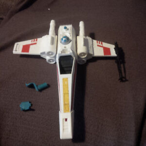 Kenner Star Wars X-wing fighter for parts or restoration. 1978