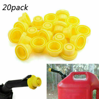 20x Replacement Yellow Spout Cap Top For Fuel Gas Can Blitz 900302 900094 H2