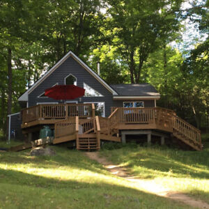 Cottage for Rent on Baptiste Lake - thanksgiving and fall dates